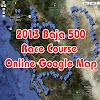 Tecate SCORE Baja 500 Race Course map in Google maps online